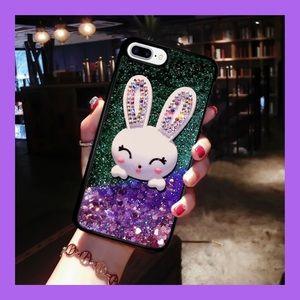 Accessories - ❗️NEW❗️Glittery Rabbit Phone Case